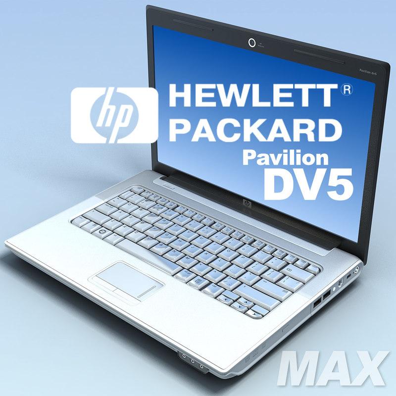 notebook hp pavilion dv5 max
