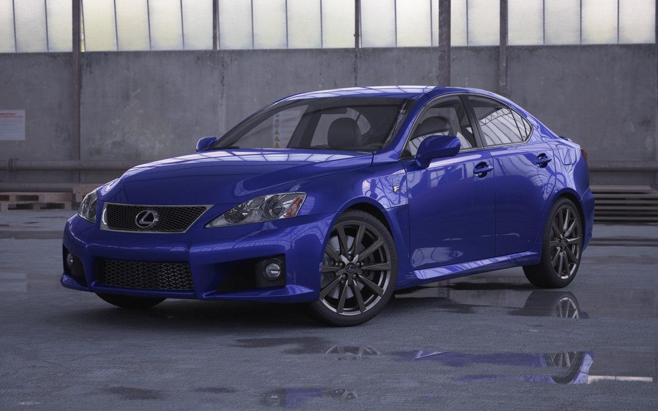 max car lexus is-f