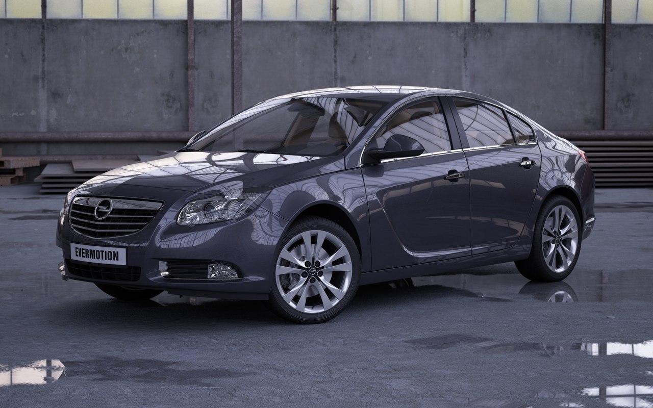 car opel insignia 3d max