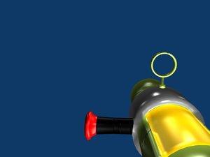 3d cannon weapon