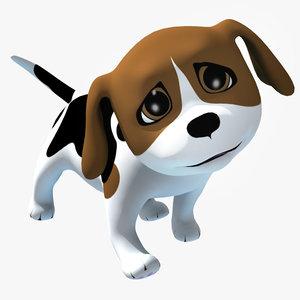 Rigged Cartoon Doggy 01