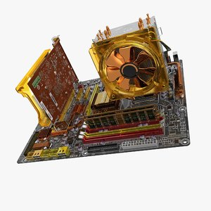 3d motherboard ga-ep45-dq6 gv-n220oc