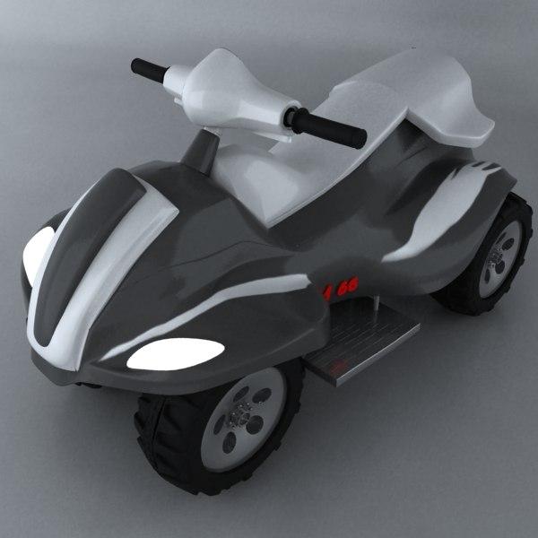 toy car 3d max