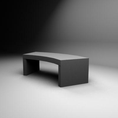 cotner table 3d model