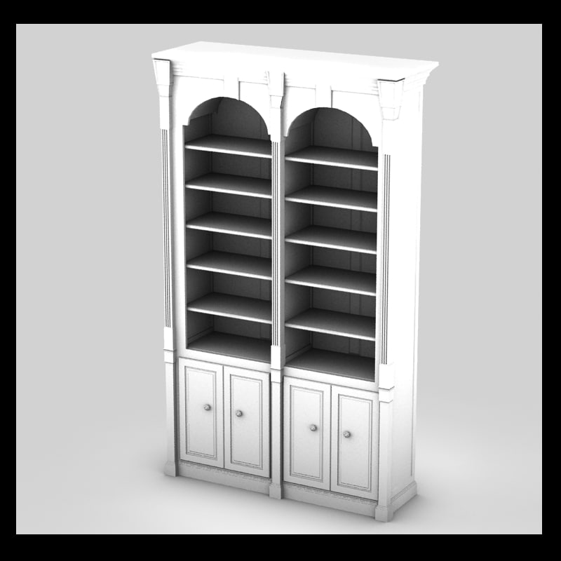 3ds max cupboard luxurious ancient