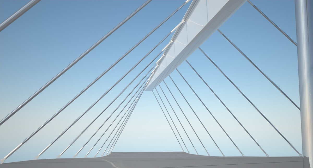 rhino designer suspension bridge