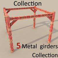 3ds metal girder