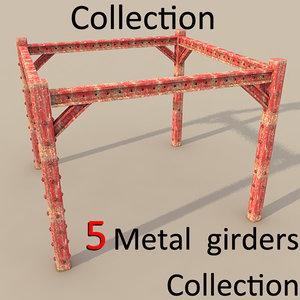 3ds metal girder