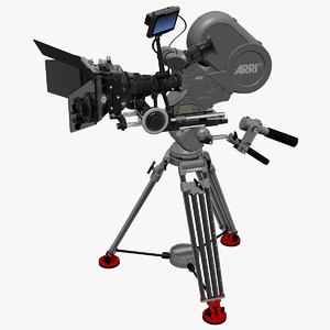 arriflex 435 sachtler film camera 3d max