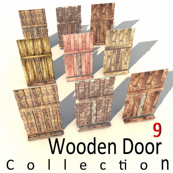 max wooden door old
