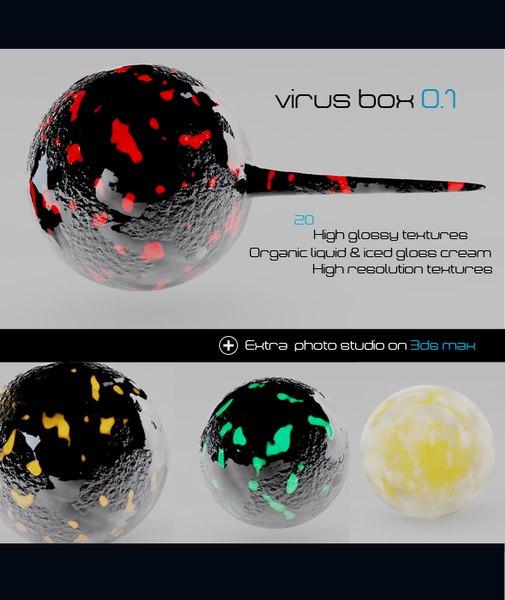 3ds material  virus box