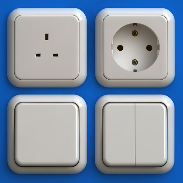 max electrical outlets light