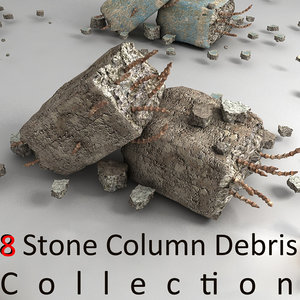 pillar debris 3d 3ds
