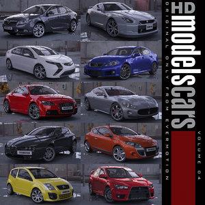 3d cars 4