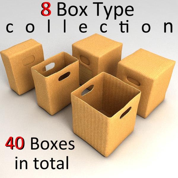3ds max paper box