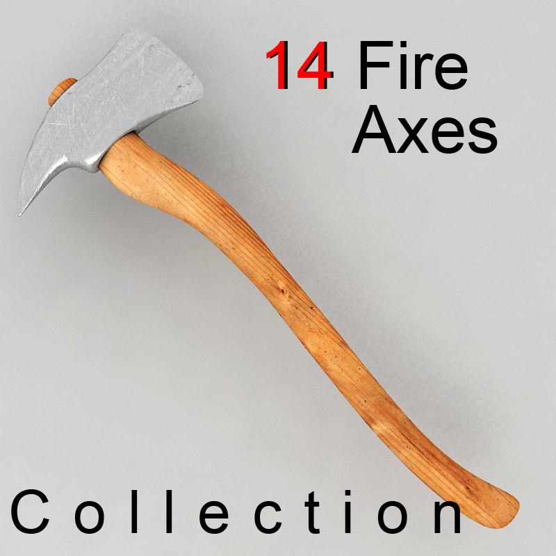 axe ax 3d model