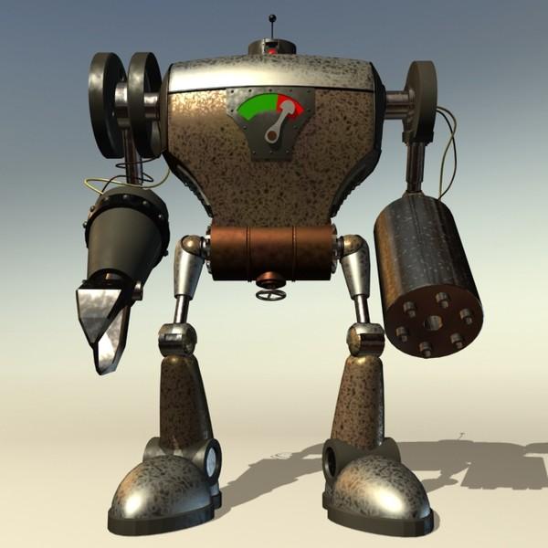 3d robot robo killer
