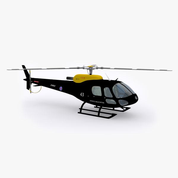Eurocopter Helicopter Black