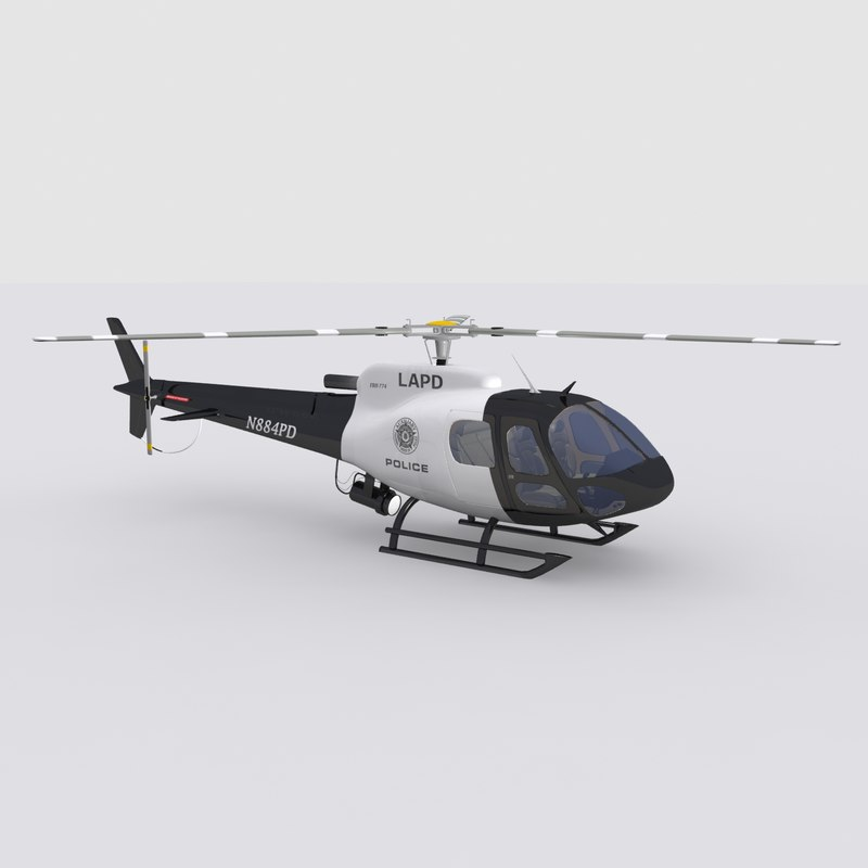 3d model eurocopter helicopter