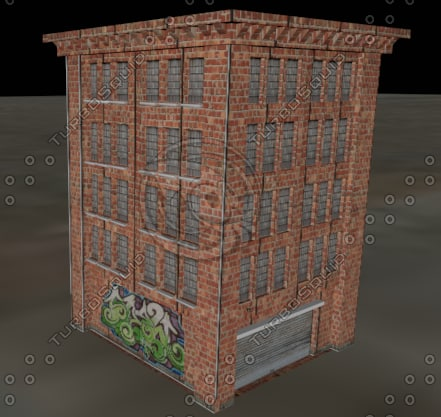 3d model urban building palace