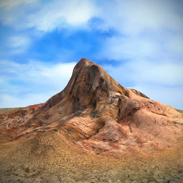 3ds max terrain mountain landscape
