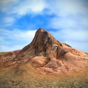 3ds max terrain mountain landscape