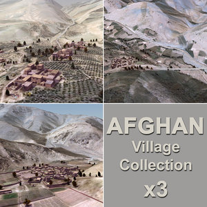 max afghan villages