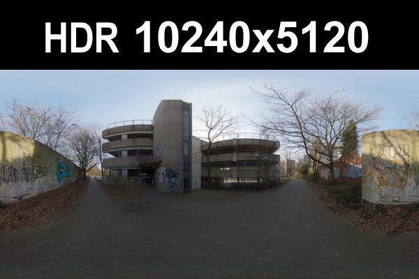 HDR 104 Sidewalk