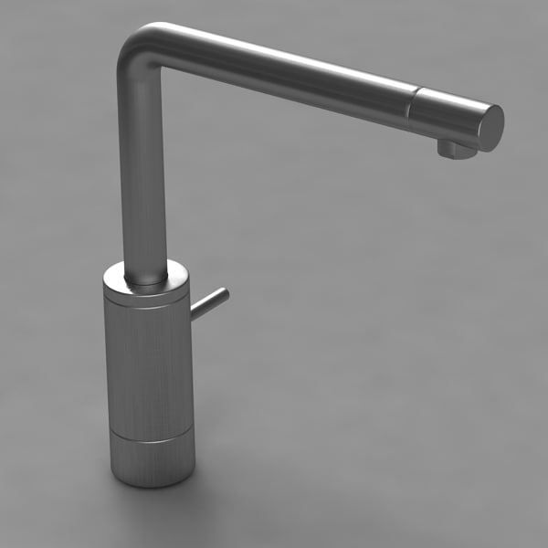 3d mixer tap stainless model