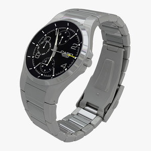 casio edifice watch 3d 3ds