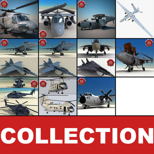 US Navy Aircraft Collection V3