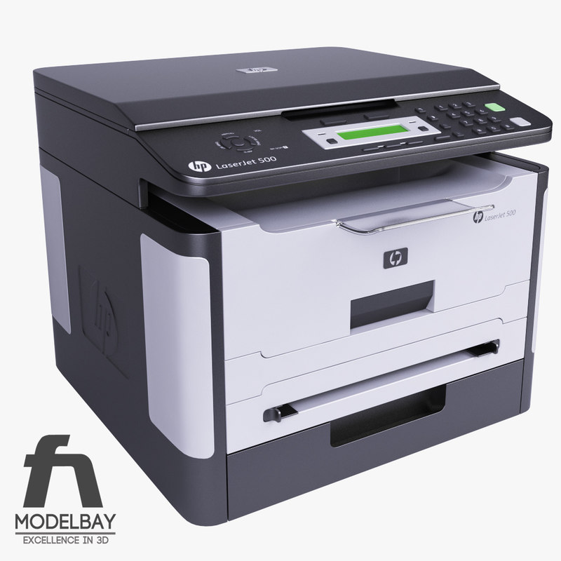 hp laserjet printer 3d 3ds