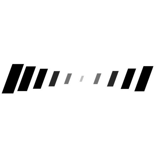 fading lines horizontal 3d model