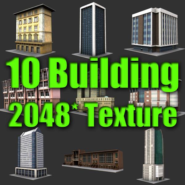 3d 10 building