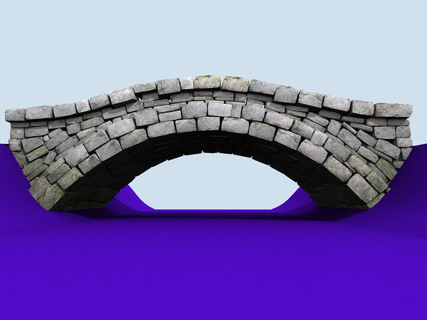 3d 3ds roman bridge