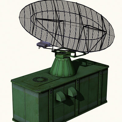 radar airfields military 3ds