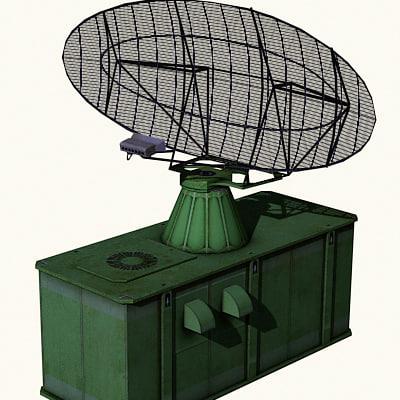 radar airfields military 3ds