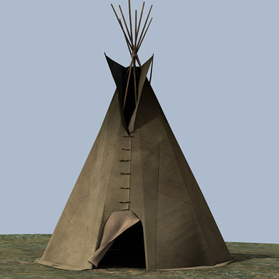 max north american teepee