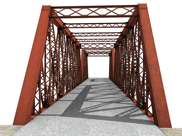 3d max truss bridge