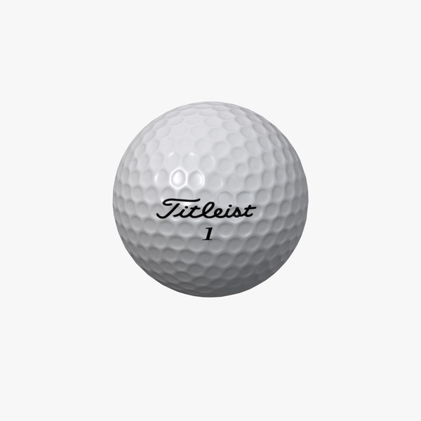 titleist golf ball 3d x
