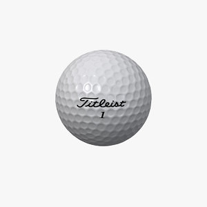 titleist golf ball 3d x