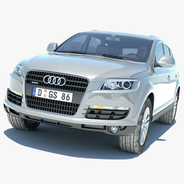 Audi Q7 On Salt Flats
