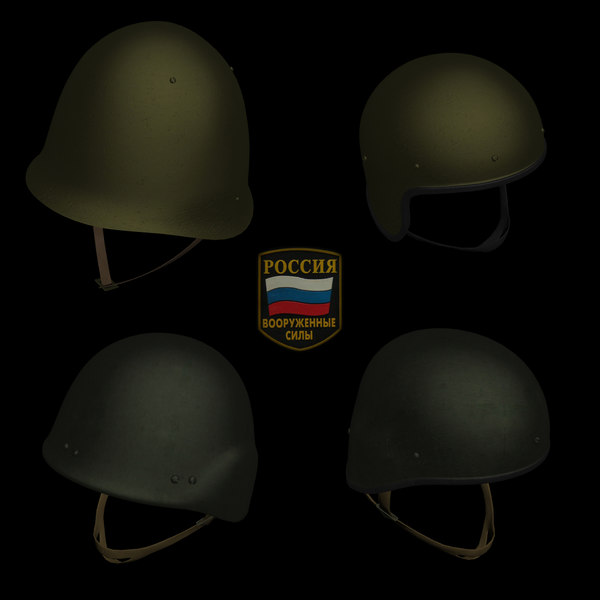 Russian Military Helmets Pack