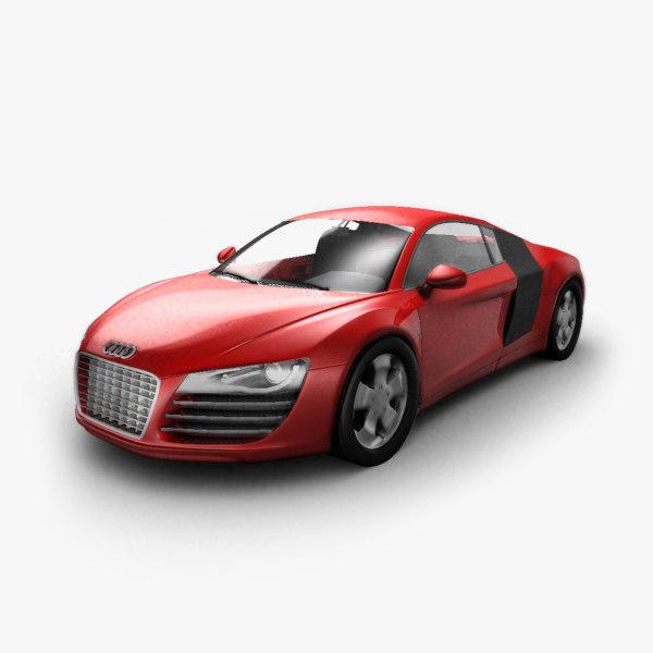 racing car 3d max