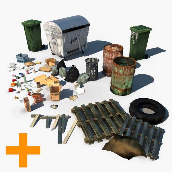 Urban Debris Pack + City Props