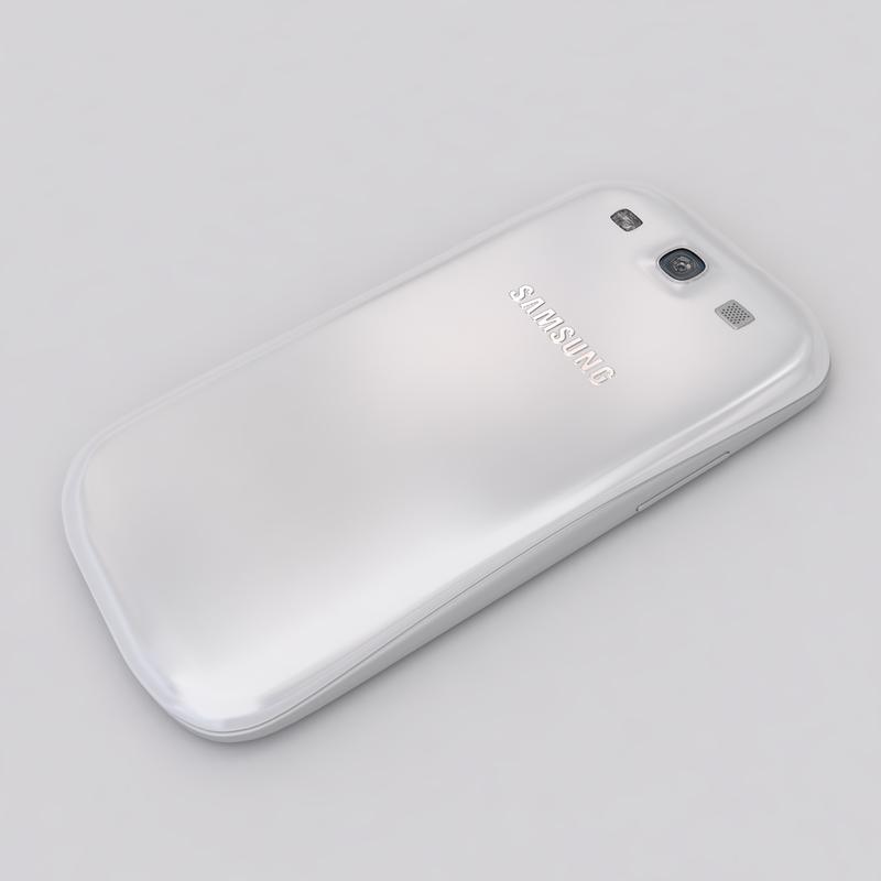 new samsung galaxy s3 3d model