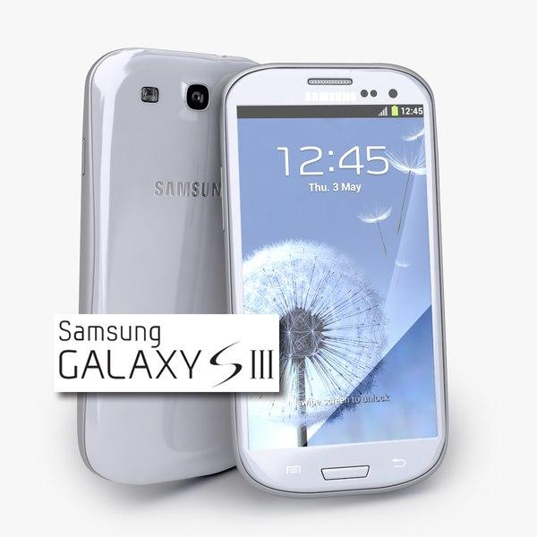 new Samsung Galaxy S3 Smartphone