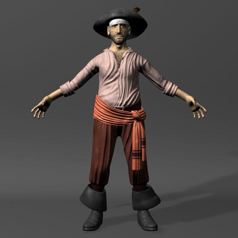 3ds max pirate 2