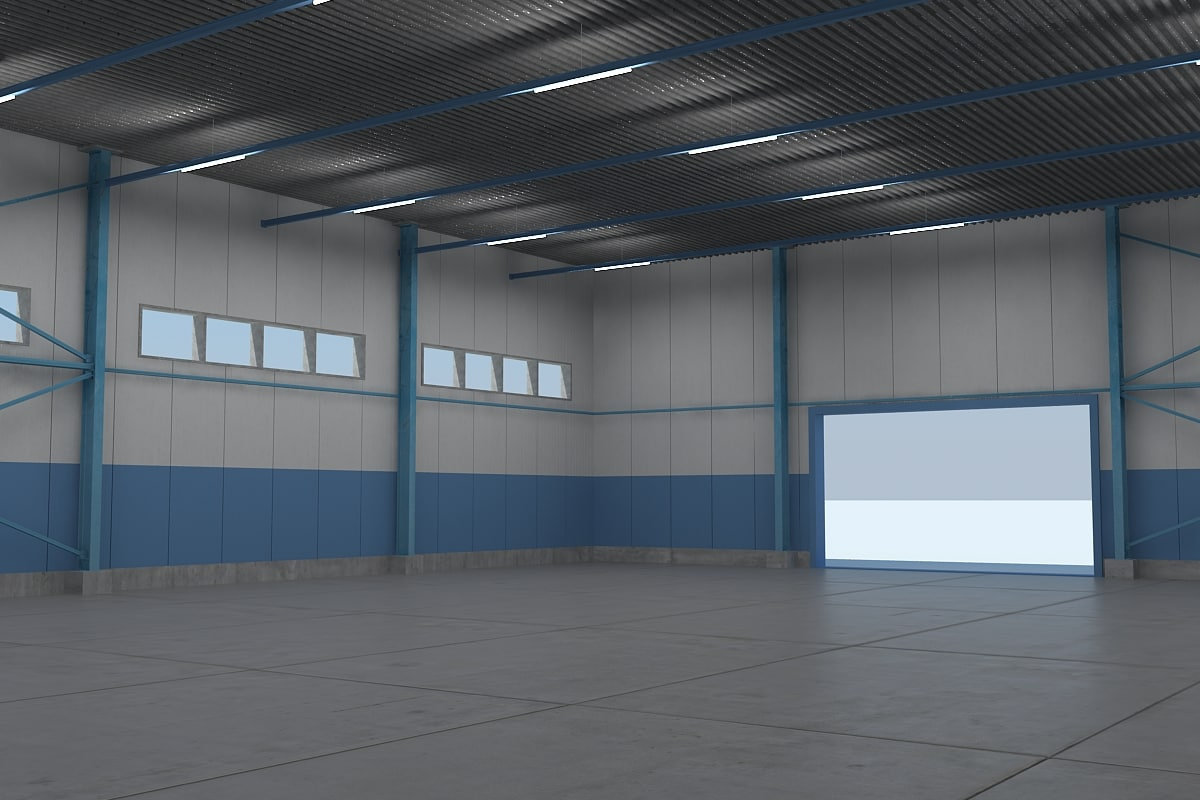 3d warehouse interiors