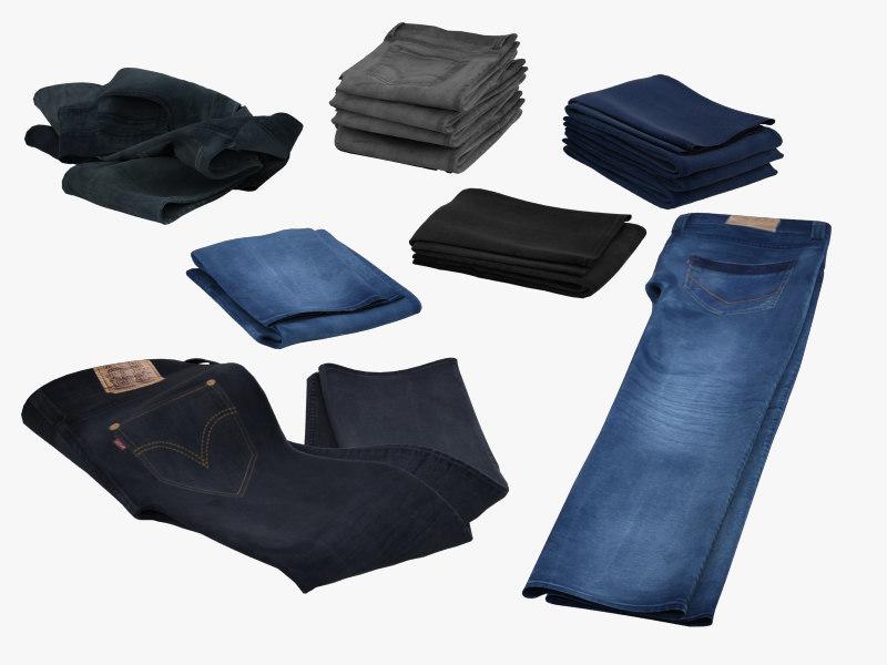 jeans 3d 3ds